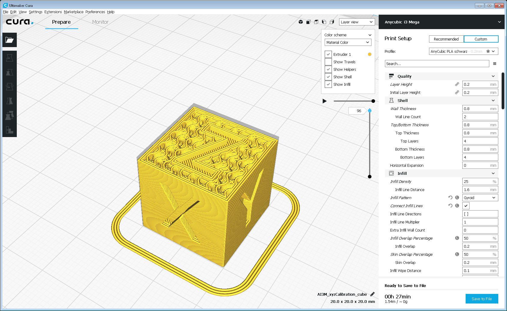 3D-Druck / Der 3D-Drucker Anycubic i3 Mega - Aufbau