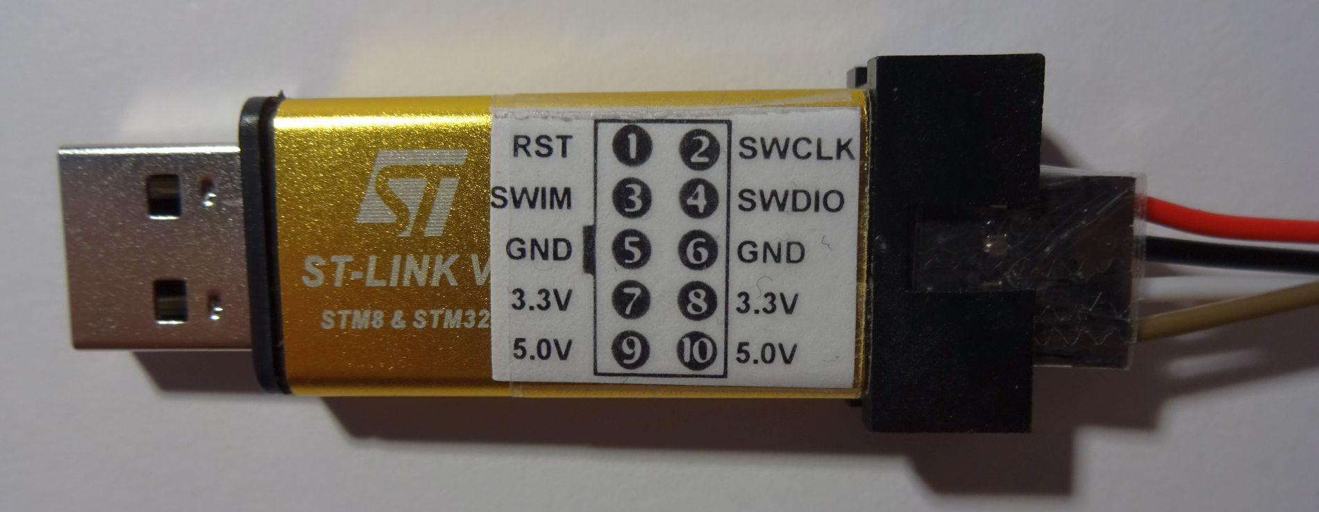 STM32 F103 / ST-Link statt Serial-Adapter zum Flashen des STM32 benutzen