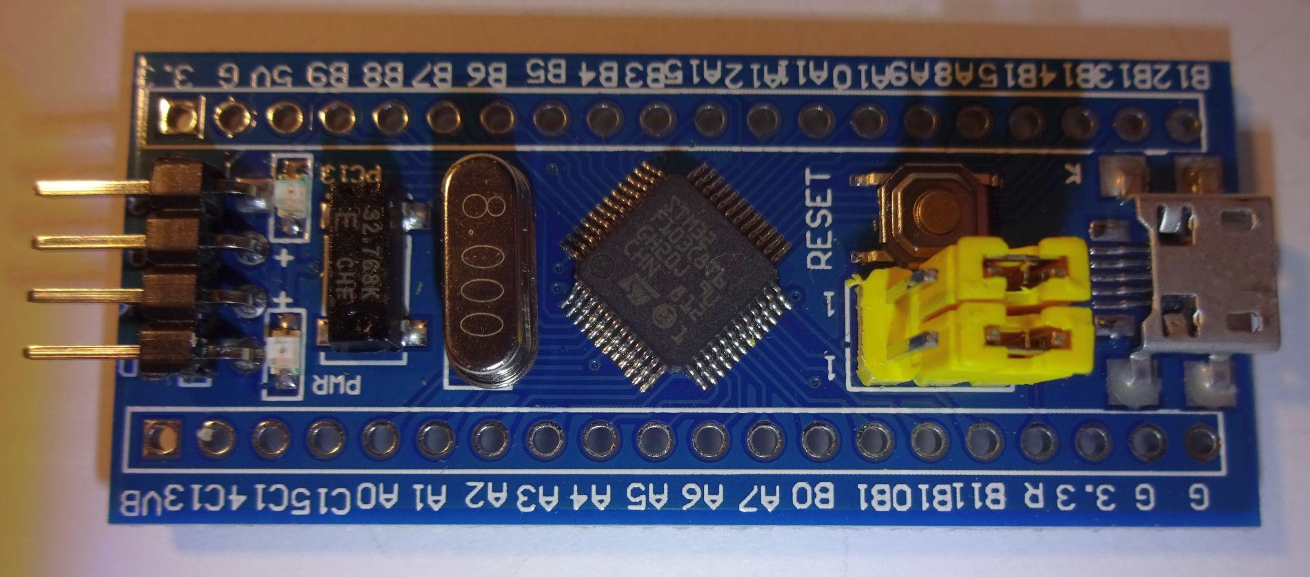 STM32 F103 / Ersteinrichtung