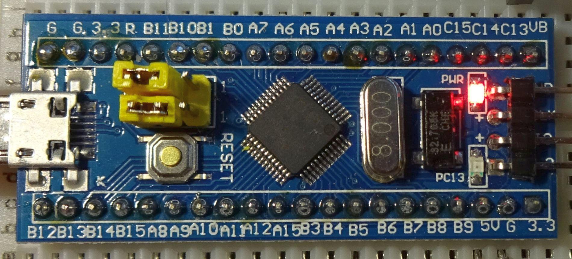 STM32 F103 / Interne Echtzeituhr des STM32 kalibrieren