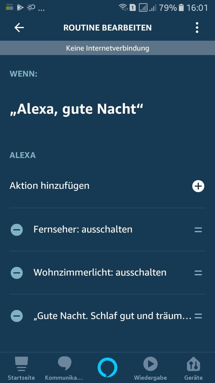 Raspberry Pi / 433 Mhz-Funksteckdose in Amazon Alexa-Routine schalten