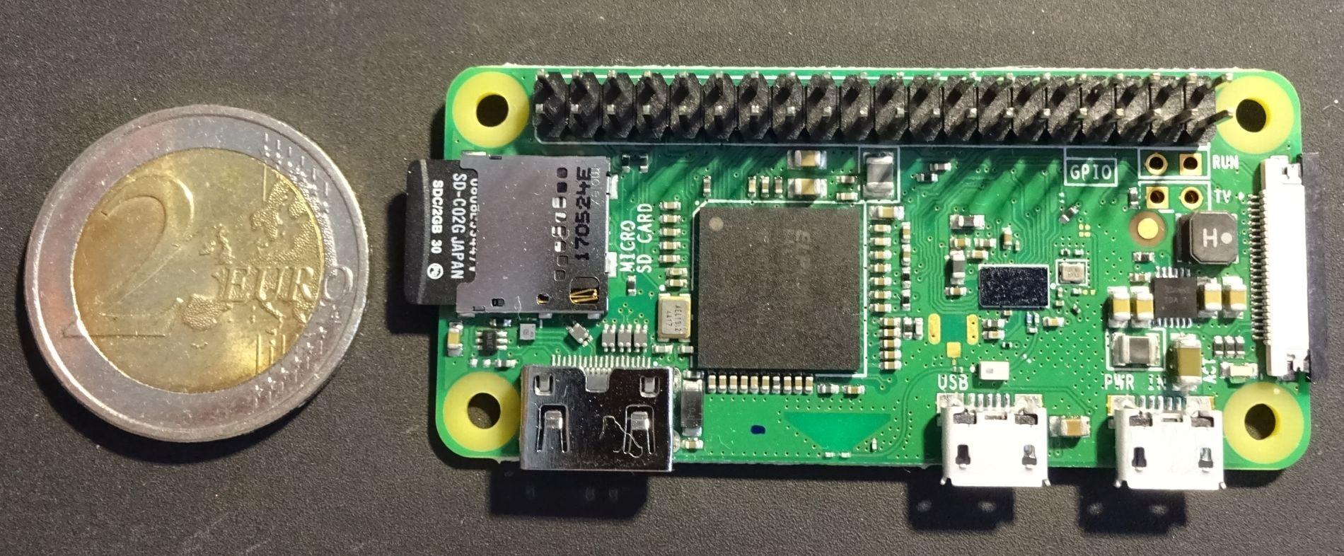 Raspberry Pi / Raspi Zero W - Ersteinrichtung für WLAN und SSH